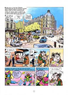 Extrait de Spirou et Fantasio -37Soif- Le Réveil du Z