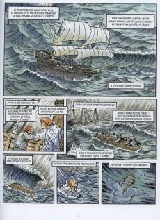 Extrait de Les indispensables de la Littérature en BD -3- Robinson Crusoé