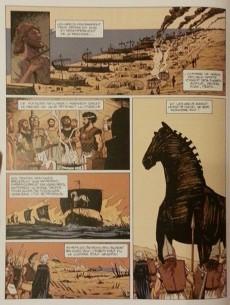 Extrait de Les indispensables de la Littérature en BD -10- L'Odyssée