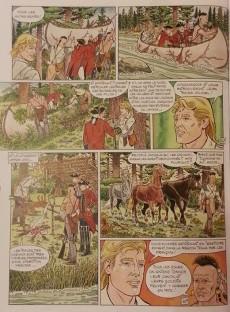 Extrait de Les indispensables de la Littérature en BD -13- Le Dernier des Mohicans