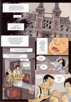 Extrait de Les indispensables de la Littérature en BD -15- Oliver Twist