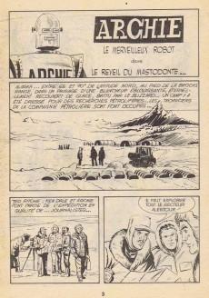 Extrait de Archie (Jeunesse et Vacances) -39- Le réveil du mastodonte...