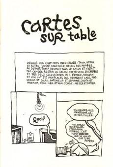Extrait de Cartes sur table