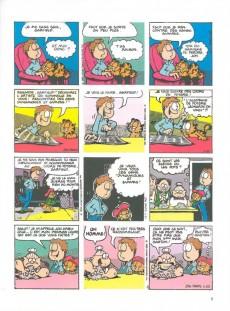 Extrait de Garfield -18a2007- Dort sur ses deux oreilles