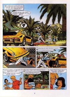 Extrait de Ric Hochet - La collection (Hachette) -35- La mort noire