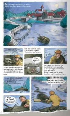 Extrait de Les mystérieux mystères insolubles -2- À la poursuite de la gigantesque lamproie géante