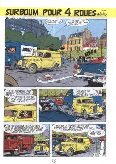 Extrait de Gil Jourdan -6a77- Surboum pour 4 roues
