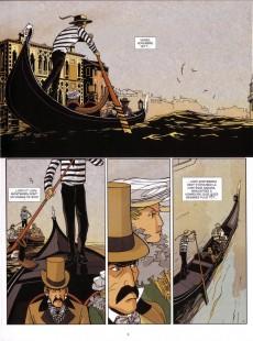 Extrait de Venise hantée -1- L'étrange mort de Lord Montbarry