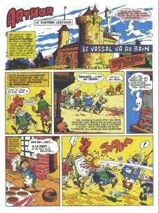 Extrait de Arthur le fantôme justicier (Cézard, Éditions du Taupinambour) -1- Le vassal va au bain