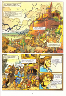 Extrait de Lanfeust de Troy -2a1996- Thanos l'incongru