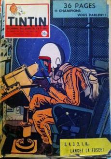Extrait de (Recueil) Tintin (Album du journal - Édition française) -36- Tome 36