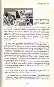 Extrait de (DOC) Études et essais divers -'- Le duel Tintin-Spirou
