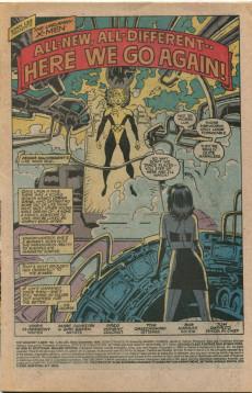 Extrait de Uncanny X-Men (The) (Marvel comics - 1963) -254- Here we go again