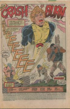 Extrait de Uncanny X-Men (The) (Marvel comics - 1963) -255- Crash&burn