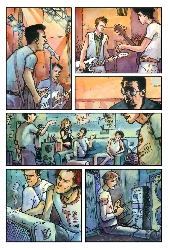Extrait de Clash en bandes dessinées (The) - The Clash en bandes dessinées