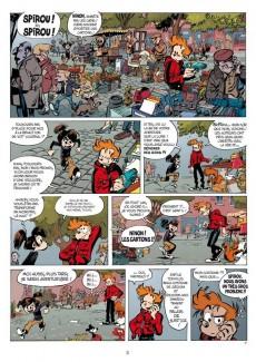 Extrait de Spirou et Fantasio -53- Dans les griffes de la Vipère