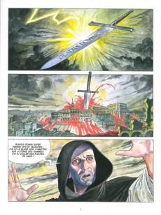 Extrait de Borgia (Jodorowsky/Manara) -1b- Du sang pour le pape