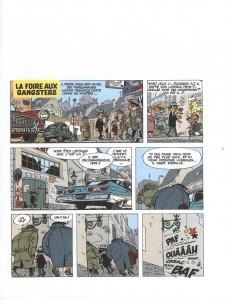 Extrait de Spirou et Fantasio -HCourte2- La Foire aux gangsters