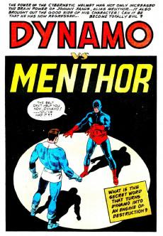 Extrait de T.H.U.N.D.E.R. Agents (Tower comics - 1965) -3- Dynamo vs. Menthor