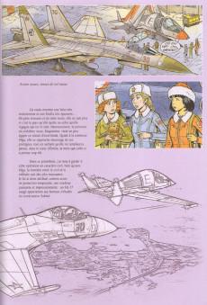 Extrait de Yoko Tsuno -26TL- Le maléfice de l'améthyste - Esquisses d'une œuvre