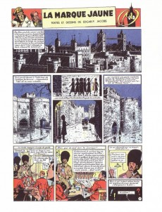 Extrait de Blake et Mortimer (Les Aventures de) -6TS2- La marque jaune
