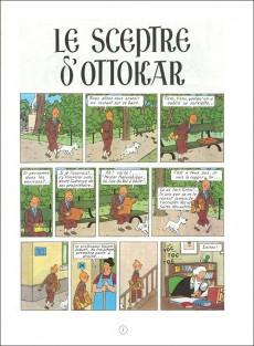Extrait de Tintin (Historique) -8B42- Le sceptre d'ottokar