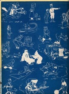 Extrait de Tintin (Historique) -7B22bis- L'île noire