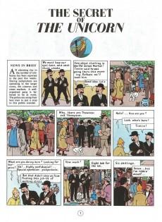 Extrait de Tintin (The Adventures of) -11- The Secret of the Unicorn