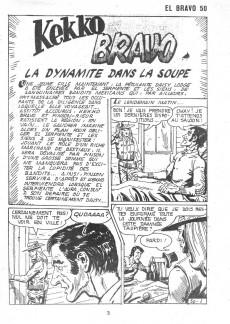 Extrait de El Bravo (Mon Journal) -50- La dynamite dans la soupe