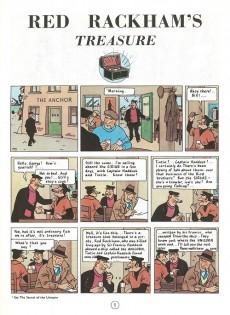 Extrait de Tintin (The Adventures of) -12- Red Rackham's Treasure