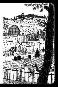 Extrait de Chroniques de Jérusalem -CC- Croquis de Jérusalem