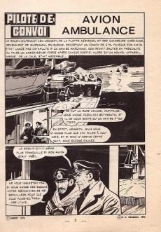 Extrait de Kamikaze (Arédit) -12- Avion Ambulance