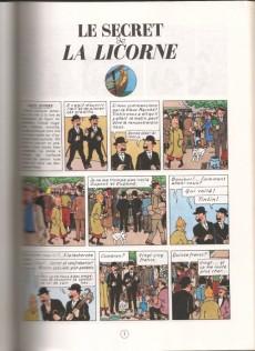 Extrait de Tintin (Study Comics - del Prado) -6- Le secret de la Licorne