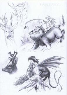 Extrait de (AUT) Lapierre, Denis - Art & Sketchbook