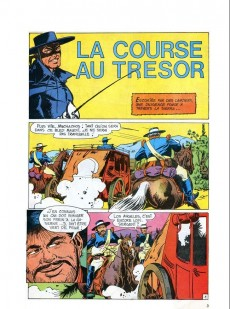 Extrait de Zorro Géant (Greantori) -1- La course au trésor