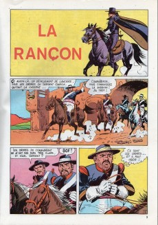 Extrait de Zorro Géant (Greantori) -2- La rançon