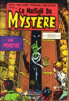 Extrait de La maison du Mystère (Arédit) -Rec3226- Album N°3226 (n°7 et n°8)
