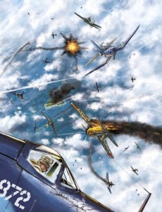 Extrait de L'escadrille des Têtes brûlées -3TT- La mort selon Boyington