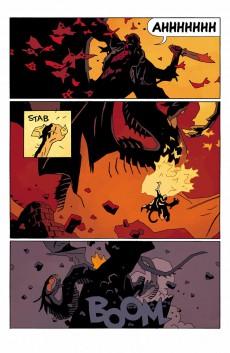Extrait de Hellboy in Hell (2012) -1- Hellboy in Hell