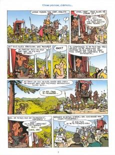 Extrait de Les aventures de Sarkozix -5- Sarkozix contre Hollandix