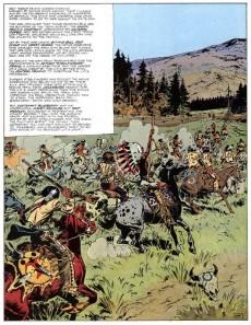 Extrait de Blueberry (en anglais, Marvel Comics) -4- General Golden Mane
