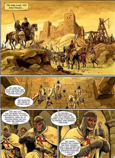 Extrait de Scorpion (The) -3- The Holy Valley