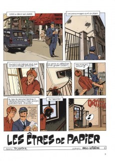 Extrait de Jérôme K. Jérôme Bloche -2e2012- Les Êtres de papier