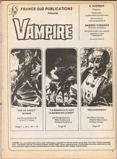 Extrait de Vampire (histoires de morts-vivants) -2- Une vie au gout de sang