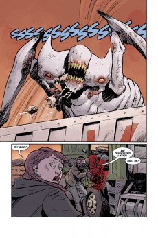 Extrait de B.P.R.D. Hell on Earth (2010) -INT04- The Devil's Engine & The Long Death