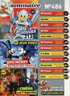 Extrait de Picsou Magazine -486- Picsou Magazine n° 486