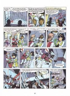 Extrait de Yoko Tsuno (en anglais, chez Comcat Comics) -1- Vulcan's force