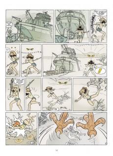 Extrait de Franka (BD Must) -6TT15- Le Monstre des marais