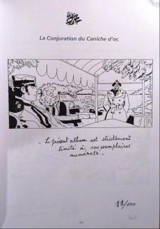 Extrait de La conjuration du caniche d'or - Tome TL PIR