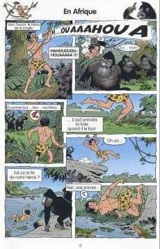 Extrait de Bob et Bobette (Les Juniors) -4- En safari